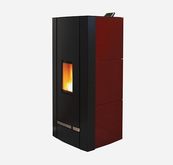 VOX C 9 kW Céramique Bordeaux